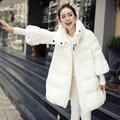 2016 женщин зимняя куртка женщин зимнее пальто свободные куртка Ватные куртки женщины утолщение плащ верхняя одежда Беременных одежда XXXL