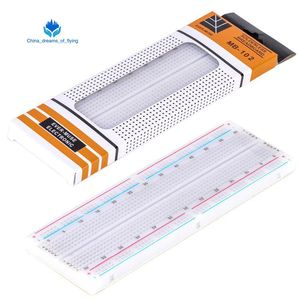 TZT 1pcs Breadboard 830 Point PCB Board MB-102 MB102 Test Develop DIY kit nodemcu raspberri pi 2 lcd High Frequency(China)