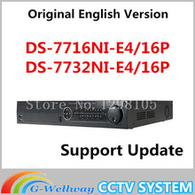 2016 Top Fashion Sale Cctv Nvr Original English Version Nvr Ds-7732ni-e4/16p Ds-7716ni-e4/16p Embedded Ds-7716/32ni-e4(-e4/16p)