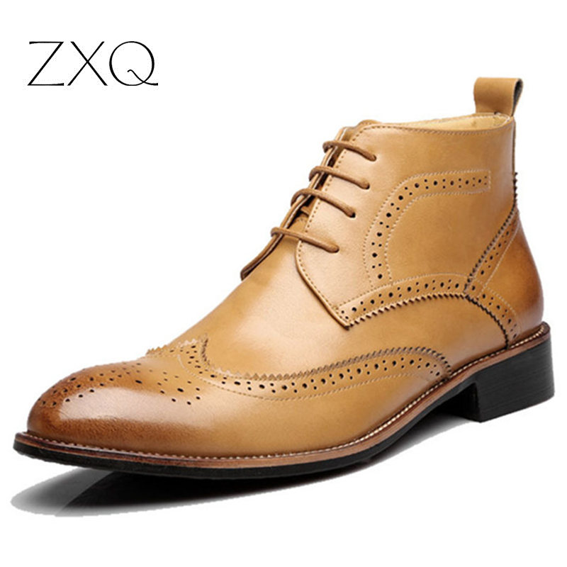 Online Get Cheap Mens Dress Boots Leather -Aliexpress.com ...