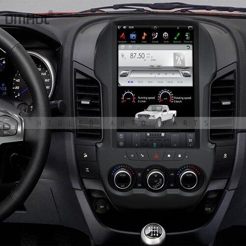 Tesla Style 12.1 pouces Android 6.0 voiture Radio GPS Navigation pour Ford Ranger 2011-2016 pas de voiture lecteur DVD stéréo GPS multimédia