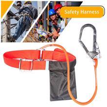 Наружный строительный ремень безопасности, защита от падения, полные ремни безопасности для тела электрика, страховочный жгут, кровельный инструмент