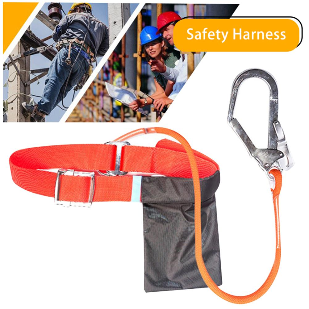 Outdoor Construction Safety Belt Fall Protection Full Body Safety Harness Electrician Safety Harness Roofing Tool Supplies