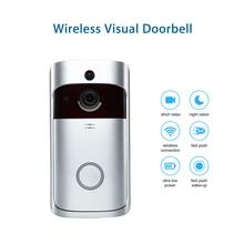 Wifi Video Smart Doorbell With Camera IR Entry Door Alert/Viewer Photograph Video Intercom Home Security Wireless Door Bell Ring