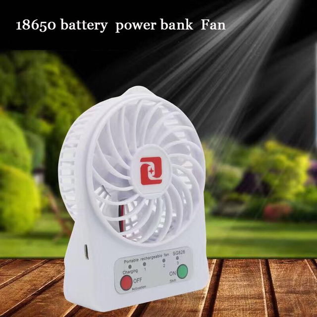 18650 power bank box Mini USB Вентилятор костюм для 18650 Литий-Ионная батарея аккумуляторная usb вентилятор DIY PowerBank Коробка случай