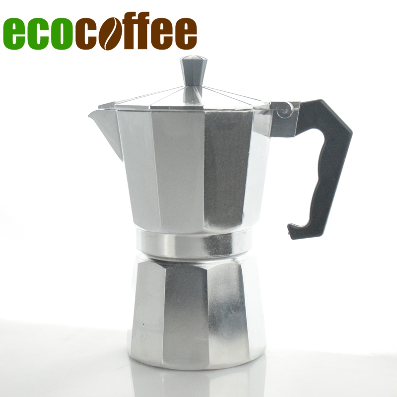 Free Shipping <font><b>Classic</b></font> Aluminum Moka Pot Italian Espresso Coffee Maker <font><b>Percolators</b></font> 1/3/6/<font><b>9</b></font>/12 <font><b>Cups</b></font> Mocha Accessories