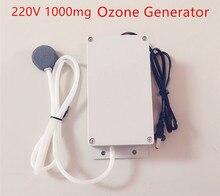 Nuevo Generador de Ozono 220 v 1000 mg Generador de Ozono Alimentos Agua Aire Esterilizador Máquina de Ozono Purificador de Agua