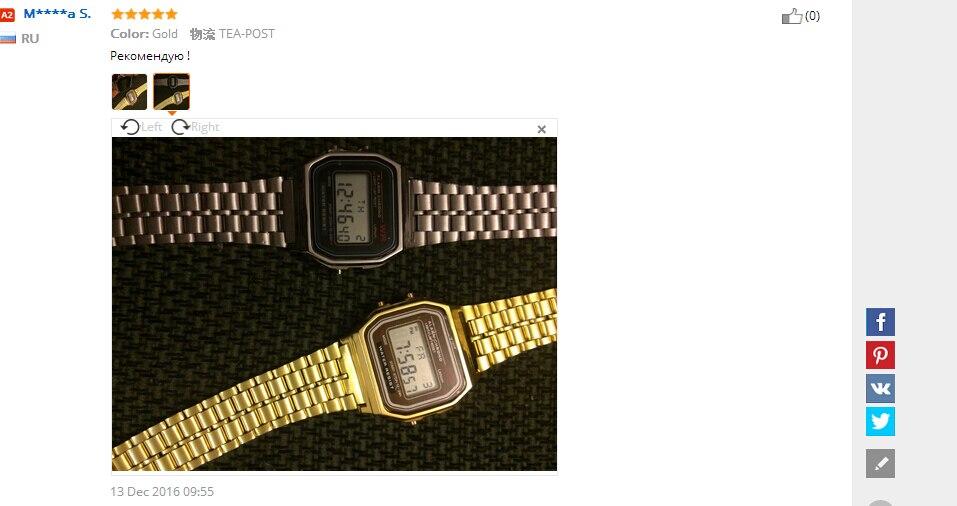 1 PZ Dell annata Delle Donne Dell acciaio Inossidabile Degli Uomini di  Allarme Digitale Cronometro Orologio Da Polso(senza imballaggio al  dettaglio) ... 413f310a5cf