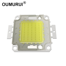 10pcs/lot 20W/30W/50W/100W LED Lights High Power Lamp floodlight Warm white/White Taiwan Genesis 30MIL Chips Free shipping
