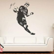 Лионель Месси 2017 Наклейка на стену стикеры Футбол плеер Аргентина Leo Творческий виниловые настенные росписи домашний декор