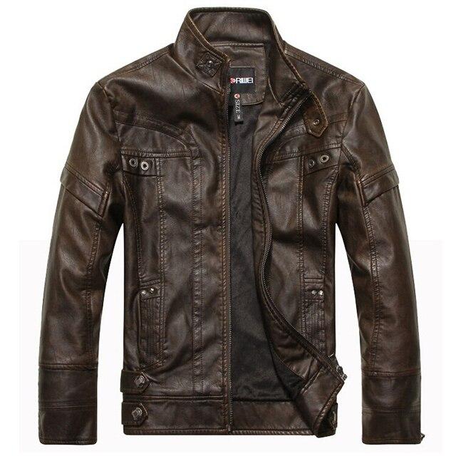 Aliexpress.com : Buy Motorcycle leather jackets men jaqueta de ...