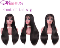 150% Density Best Lace Front Wigs Malaysian Straight Hair Lace Front Human Hair Wigs With Baby Hair Miss Cara Remy Hair Wigs
