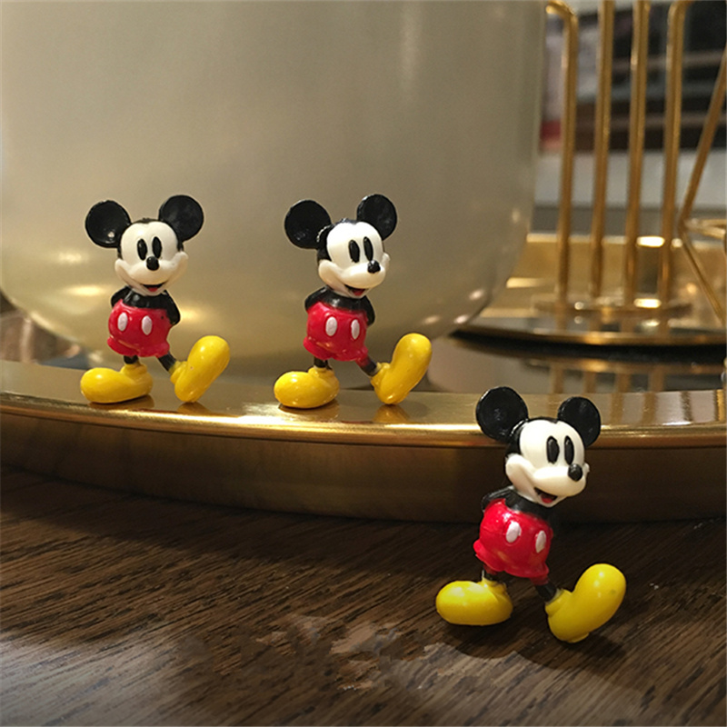 60pcs lot 3cm classical mickey mouse very small figure toys mickey collection figure toys microlandschaft pvc