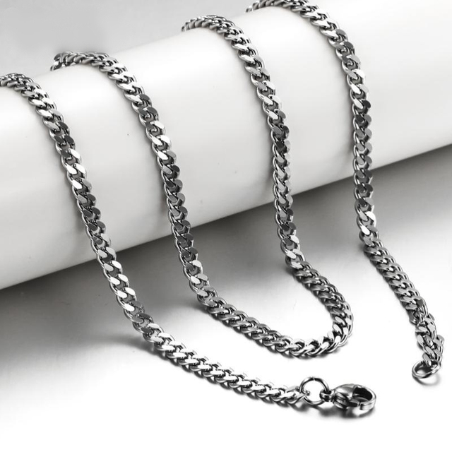 Whole Steel Jewelry Accessories Length 50cm 20 Never Fade Nickle Free Surgical Twisted Link