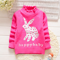 new girls autumn/spring wear girls sweater children clothing babi girls sweater winter warm cute outerwear