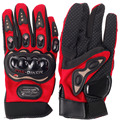 Outdoor Product Cross-country Fingers Separated  Motorcycle Gloves    Red