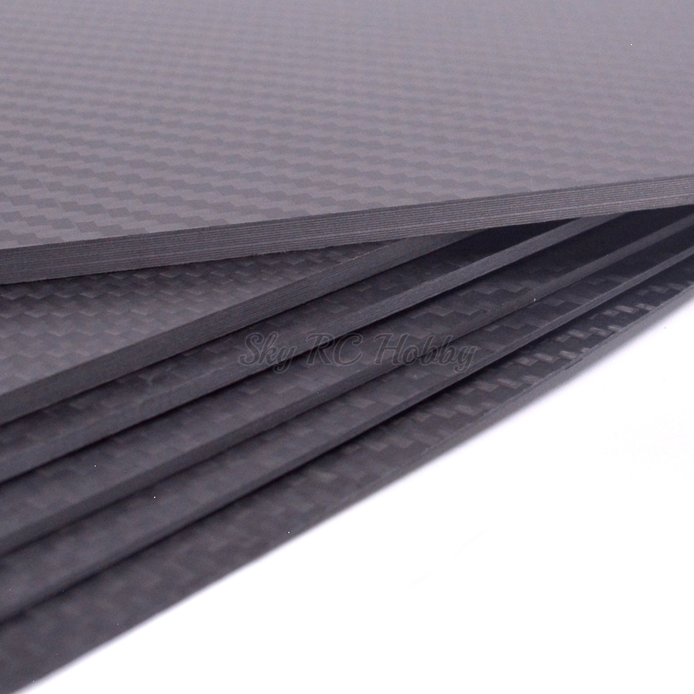 Image 2 - 400mm X 200mm Real Carbon Fiber Plate Panel Sheets 0.5mm 1mm 1.5mm 2mm 3mm 4mm 5mm thickness Composite Hardness Material for RC-in Parts & Accessories from Toys & Hobbies