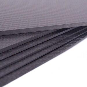 Image 2 - 400mm X 200mm gerçek karbon Fiber plaka paneli levha 0.5mm 1mm 1.5mm 2mm 3mm 4mm mm 5mm kalınlığında kompozit sertlik malzemesi RC