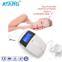 ATANG 2018 New Sleep Nurse Anti Insomnia Anti Depression Anti Anxiety Aleeping Aid CES Therapy Brain Stimulator Help Sleep
