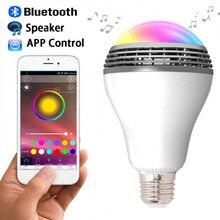 Smart Lamp Wireless Speaker 110V – 240V E27 LED Bulb Light Bluetooth Speaker