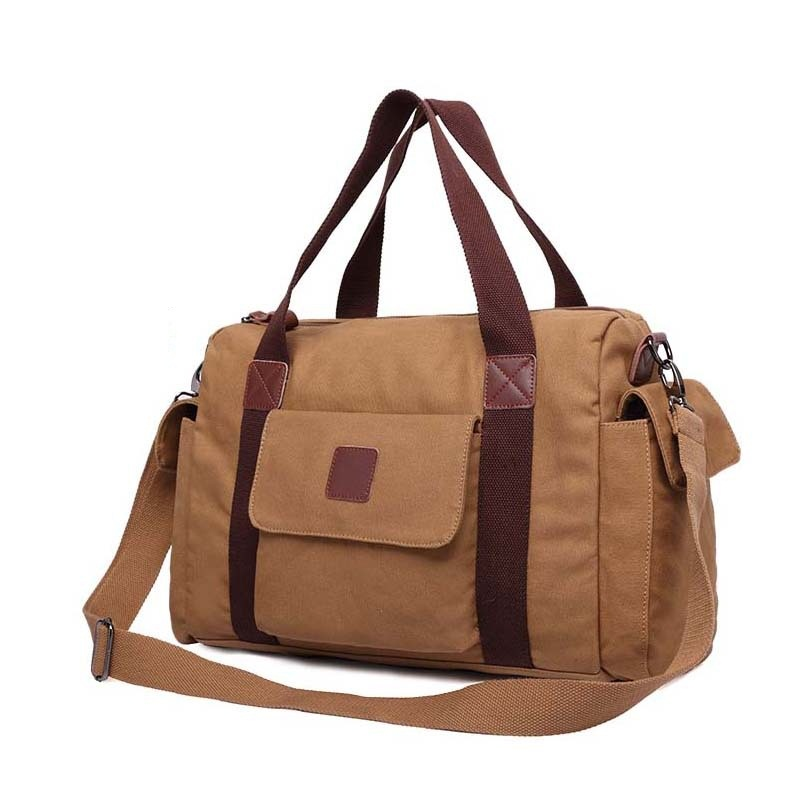 Popular Canvas Weekender Bag-Buy Cheap Canvas Weekender Bag lots ...