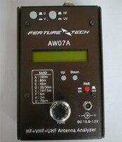 אנטנת מנתח HAM רדיו בגלים קצרים רדיו HF + UV טוקי רדיו סטי יד multiband אנטנת AW07A מנתח 1.5-490 MHZ