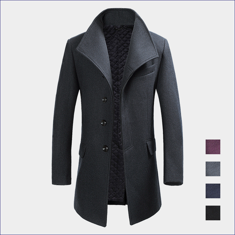 Online Buy Wholesale 100 cashmere mens coat from China 100 ...