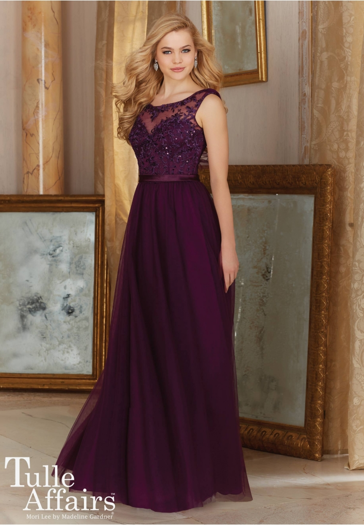 Popular purple brides maid dresses buy cheap purple brides maid dark purple bridesmaid dress long shawl back illusion high neck appliqued brides maid dresseschina ombrellifo Image collections