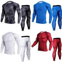 2018 19 новые зимние комплекты термобелья мужские быстросохнущие антимикробные стрейч мужское термобелье мужские кальсоны для фитнеса