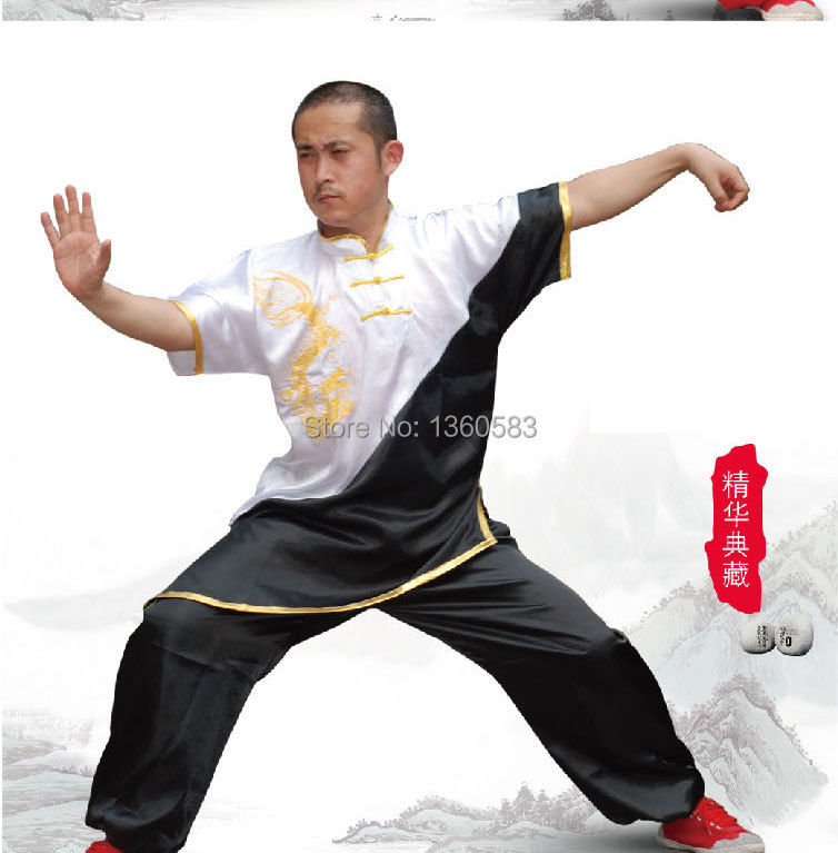 Новый китайский ушу равномерное кунгфу одежда боевых искусств костюм таолу одежда для женщин, детей мальчиков и девочек мужские с вышивкой ...