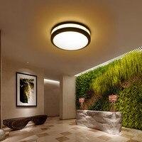 Thrisdar 24W 30W Round Outdoor LED Ceiling Light Garden Balcony Villa Hotel Aisle Corridor Waterproof LED Ceiling Down light