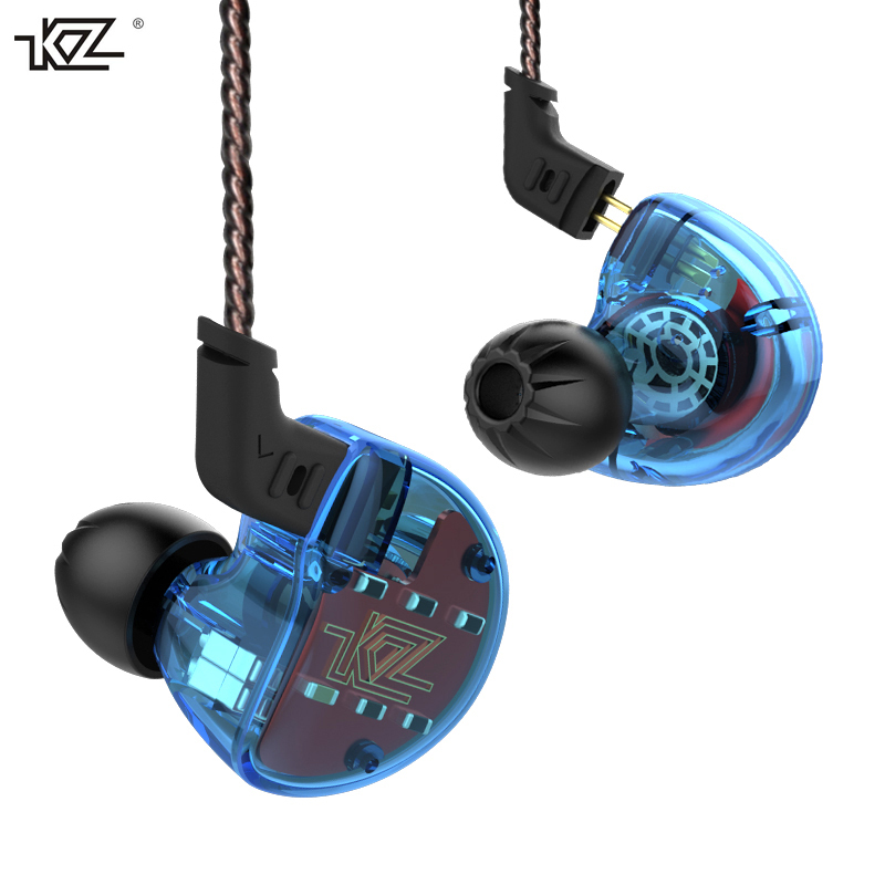 New KZ ZS10 DD+4BA Unit Hybrid In-Ear Earphone Subwoofer Stereo Sport Headset Noise Cancelling HIFI Detachable Earbuds with mic new kz zs3 in ear headphones stereo headset ear hook running sport earphone noise cancelling earbuds headphones with microphone