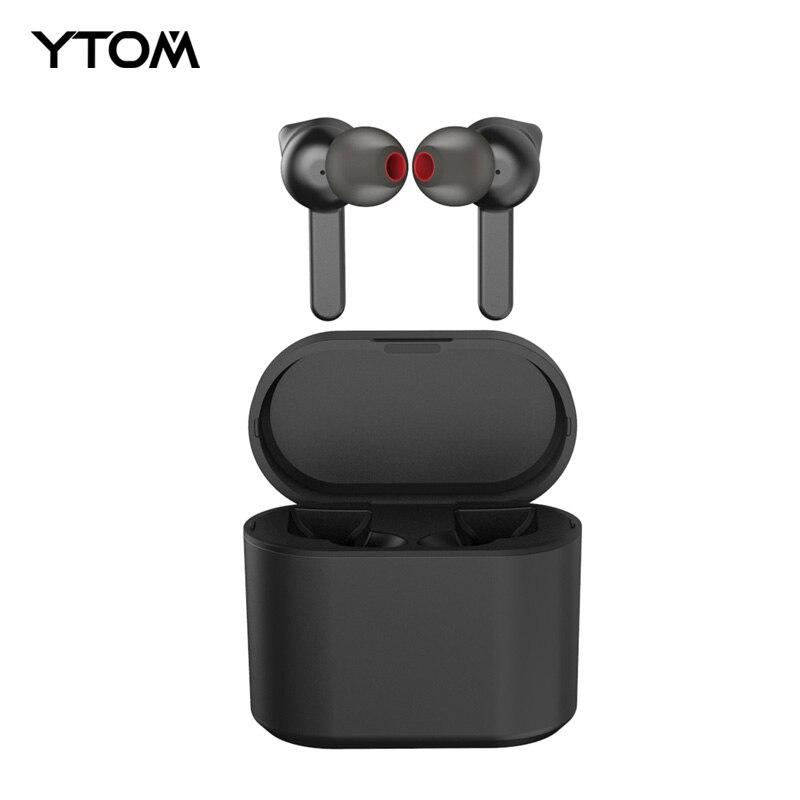Meilleur Top Tactile YTOM GW15 Vrai Sans Fil Casque Bluetooth 5.0 TWS Écouteurs 5 heures temps de musique mini sport écouteurs pour téléphone pc