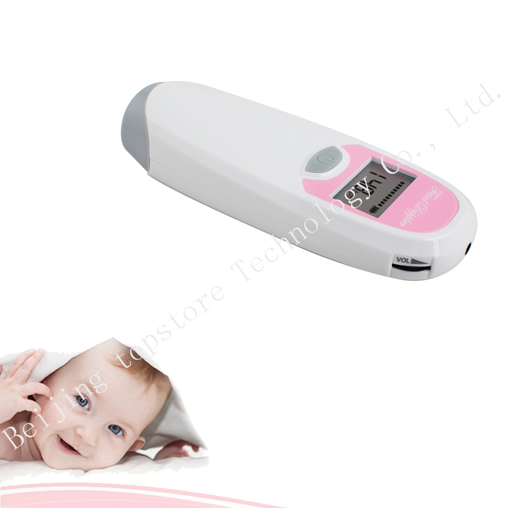 5pcs Hot Sale 2.5MHz Ultrasound Pocket Fetal Doppler Baby Monitors Prenatal Fetal Heart Rate Detector LCD Screen CE/FDA