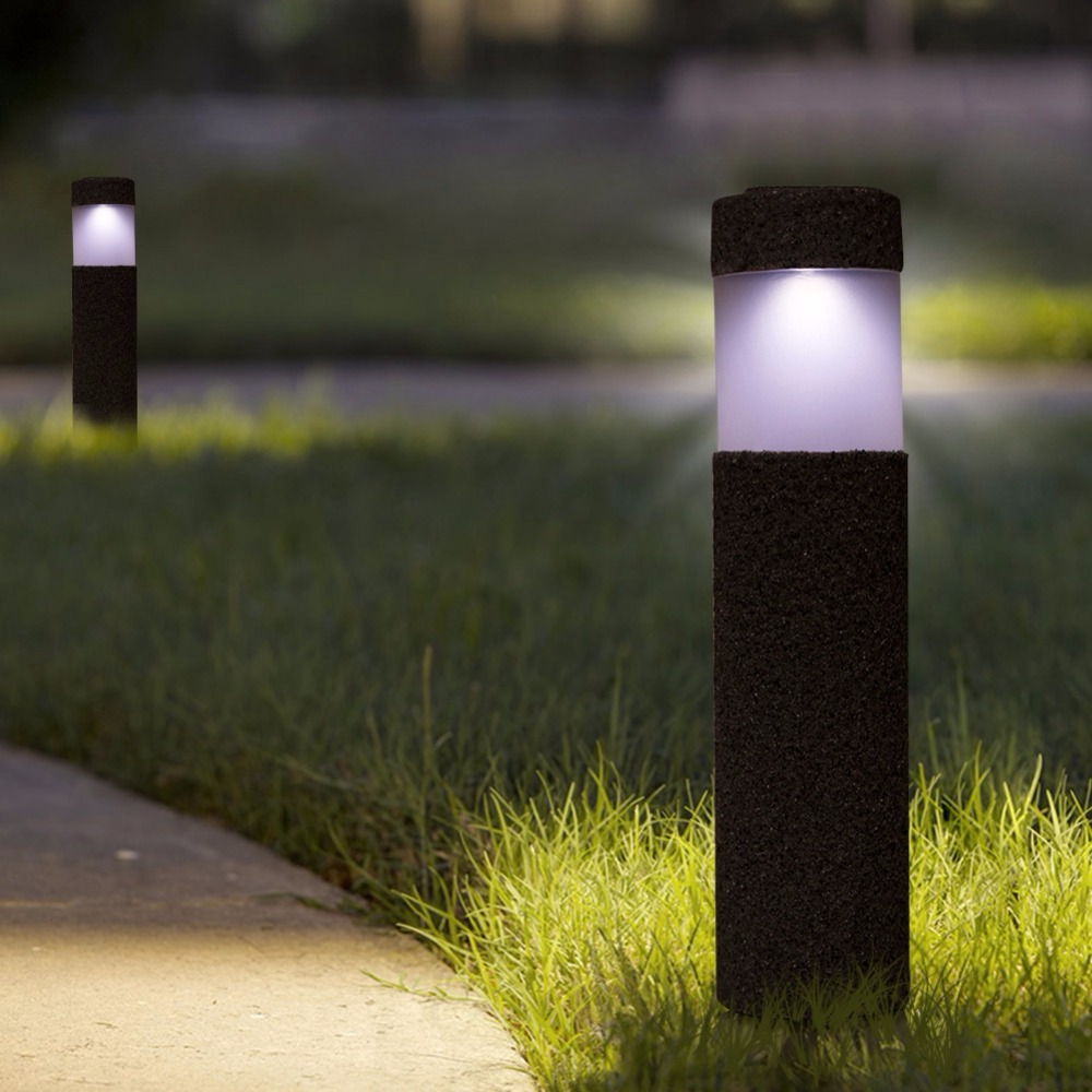 Waterproof Sunlight LED Solar Light For Garden Outdoor Solar Lamp For  Path Courtyard Stone Lamp luces solares para exterior