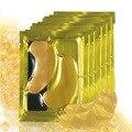 Afy 24 K Gold Eye Mask cristalina de oro del colágeno máscara de ojos Anti ojeras hidratante Anti edad ácido hialurónico máscara 1000 bolsas