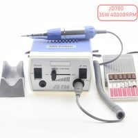 Máquina de perforación eléctrica de uñas de 35W 40000 RPM, manicura, pedicura, limas, Kit de herramientas, pulidor de uñas, pulidor de esmalte para Gel polaco