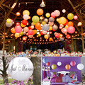 "12 ""30 cm Chinês da Lanterna de Papel Lanternas do Céu Kongming Voador Wishing Lamp Wedding Party Balloon Decoração"