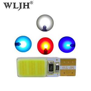 WLJH 2x W5W T10 LED Car Light 501 Lamp Bulb License Plate LED For Ford Crown Victoria ESCORT EDGE Fit Element Mustang EXPLORER