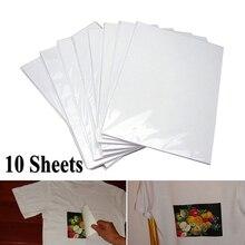 10 шт., A4, модная термопереводная Бумага для DIY, футболка, живопись, железная бумага, светильник, тканевая ткань, новинка, ручная работа