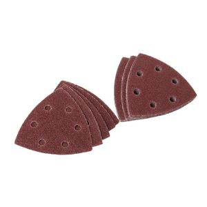 Image 3 - 20pcs Self adhesive Sandpaper Triangle Delta Sander Sand Paper Hook Loop Sandpaper Disc Abrasive Tools For Polishing Grit 40 240