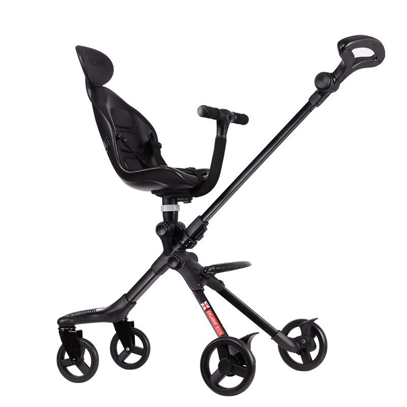 UK DELAMA Baby Stroller High Landscape Portable Lightweight Baby Strollers Foldable Baby Pram Pushchairs Kinderwagen 2017 special offer poussette baby strollers aiqi stroller portable foldable high landscape suspension umbrella pram pushchair