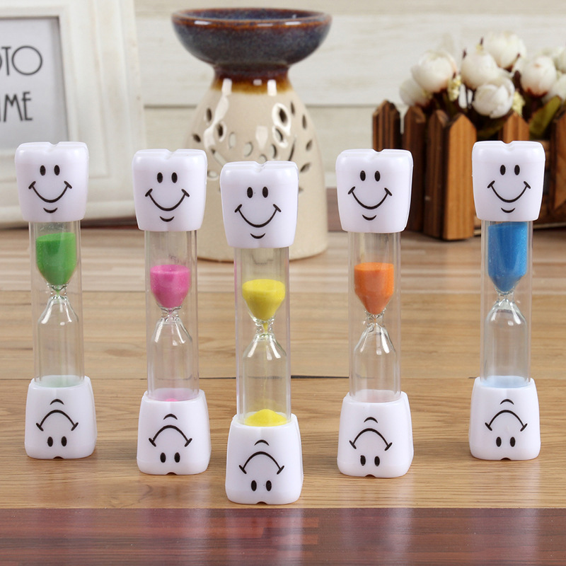 Active Childrens Kids Toothbrush Hourglass Sandglass Glass Smile Face Sand Egg Timer Bm88 By Scientific Process Toys & Hobbies Arts & Crafts, Diy Toys
