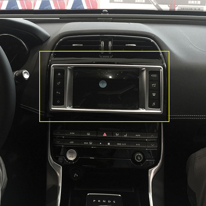 2015 Jaguar Prices: Aliexpress.com : Buy ABS Chrome Car Dashboard Navigation