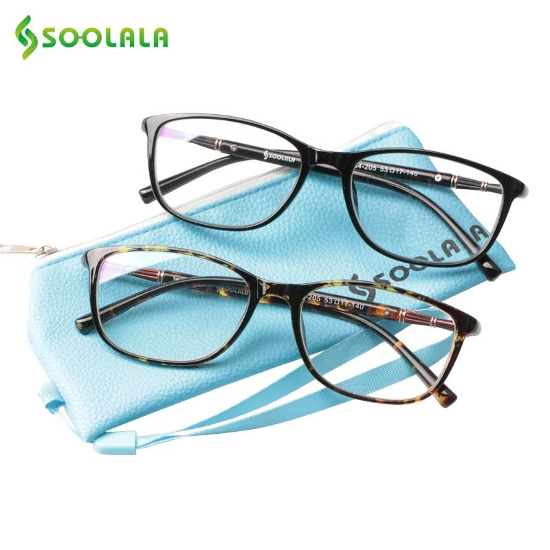 SOOLALA gran tamaño TR90 lectura gafas mujeres hombres Full Frame ...