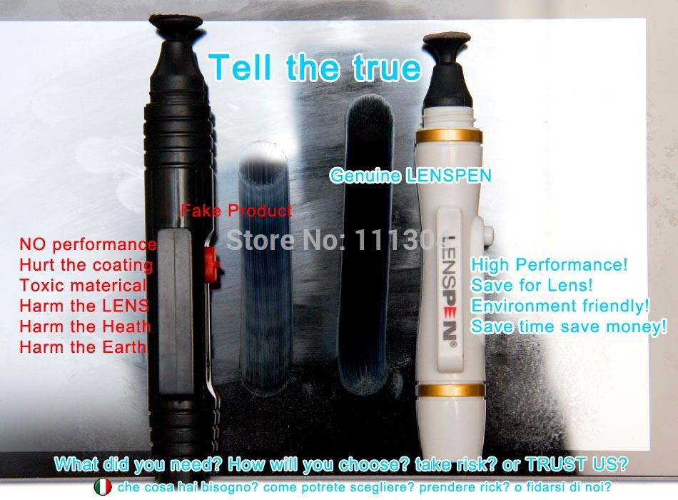 Genuine Original Lens pen Camera Cleaning kit Lenspen NLP 1 SDK 1 Invisible Carbon Compound Lens Cleaner for canon 550d 650d 5d2 in Camera Cleaning from Consumer Electronics