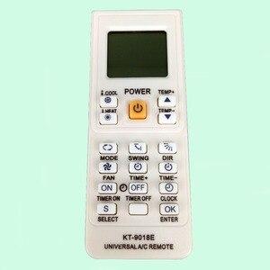 Image 2 - 4000 w 1 uniwersalny klimatyzator zdalnego sterowania KT 9018E LCD AC Fernbedienung