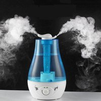 Double Spray Air Humidifier 24W Practical Aroma Diffuser Ultrasonic Humidifier for Home Mist Maker Fogge
