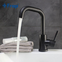 Frap High Quality Hot and Cold Water Bathroom Faucet Sink Black and White Bathroom Innovative Fashion Style Sink Faucet Y10021