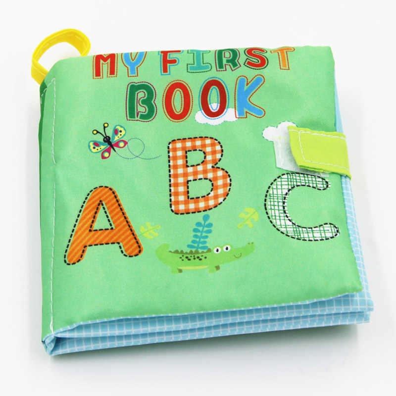 Мягкие развивающие книжки от 0 до 36 месяцев, тканевые книги, детские развивающие погремушка в коляску, игрушки для новорожденных, кроватки, детские игрушки